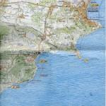 Карта Коктебеля