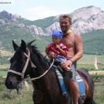 Крым детям лошади