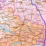 Автомобильная карта Украины, маршрут в Крым, как добраться до Крыма, на автомобиле в Украину, авто Крым, дорога в Крым, в Крым на авто,