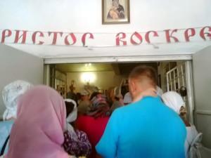 Праздник в церкви Коктебеля
