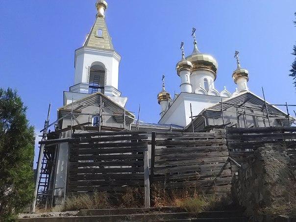 строительство храма Коктебель