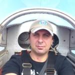 Прощание с пилотом Олегом Соколом в Кировском