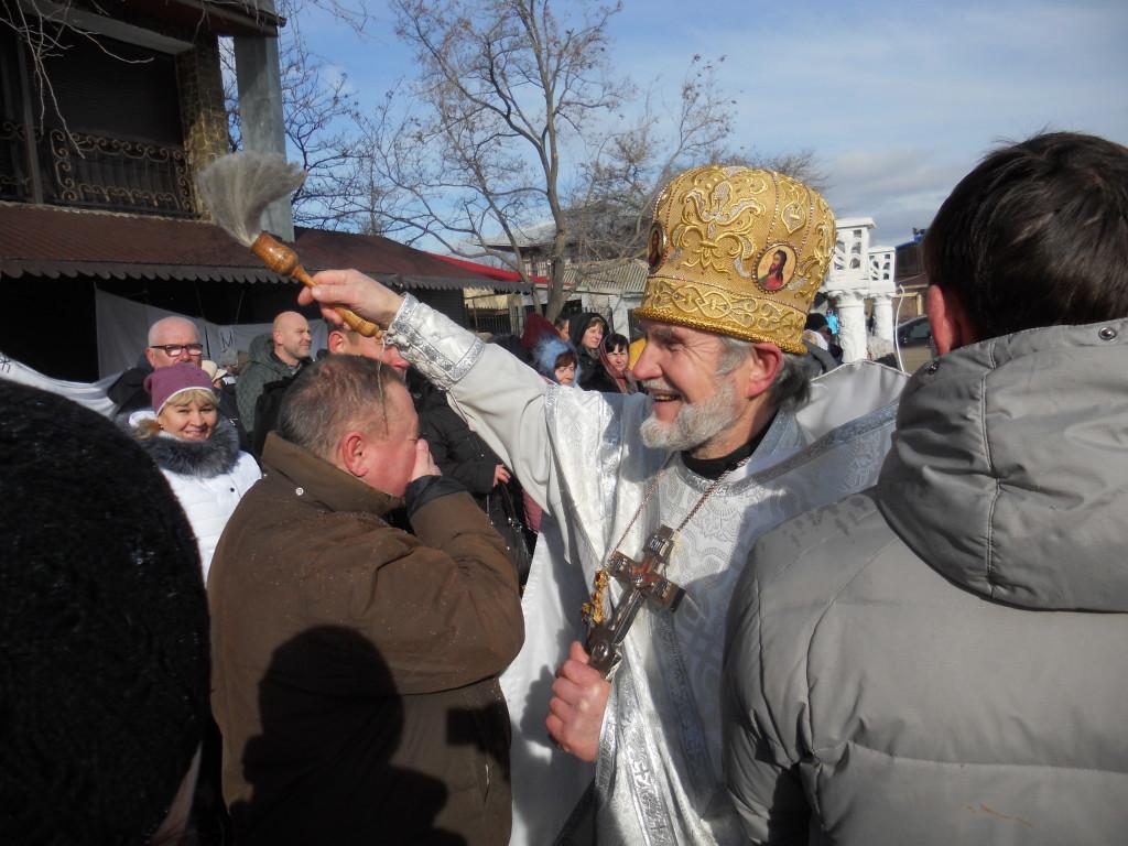 Крещение в Коктебеле