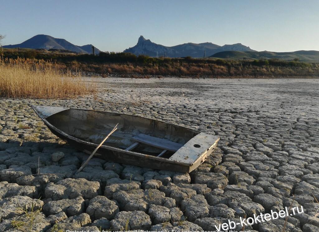 Вода Крыма засуха