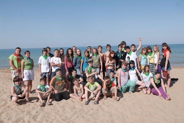 лагерь дети крым